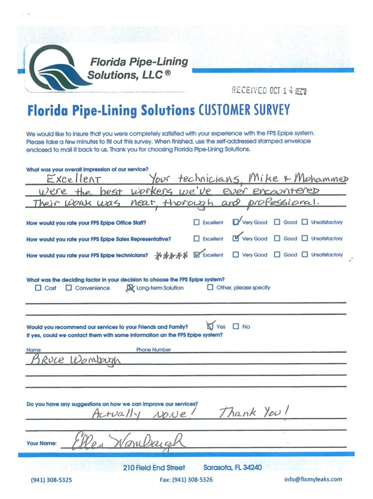 FPS Testimonial