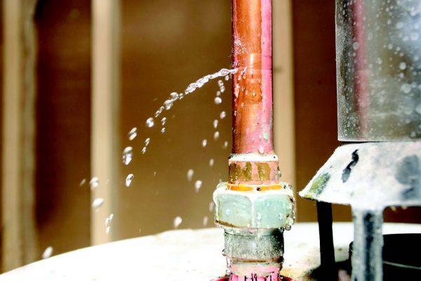 Copper Pin Hole Leak